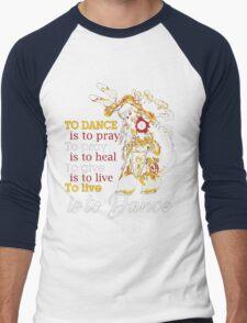 NATIVE AMERICAN Men's Baseball ¾ T-Shirt