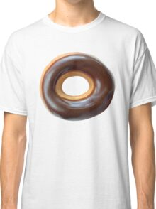 Chocolate Covered Ring Donut Classic T-Shirt