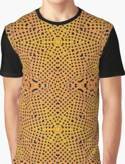 Abstract ornate wooden textured Graphic T-Shirt