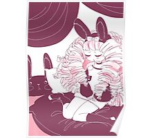 Sleepy Bunny Princess Emi Poster