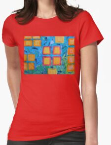 Lanterns under Water  Womens Fitted T-Shirt