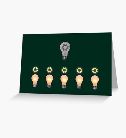Teamwork concept Greeting Card