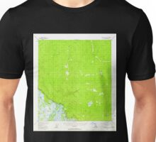 USGS TOPO Map Alaska AK Tanacross A-2 359696 1955 63360 Unisex T-Shirt