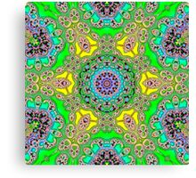 geometric  abstract shapes Canvas Print