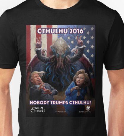 NOBODY TRUMPS CTHULHU! Unisex T-Shirt