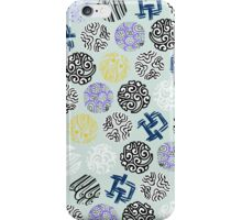 Quilt Vibe-Free Circles iPhone Case/Skin