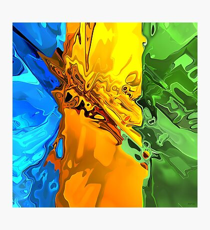 Blend of Bright Colors Photographic Print