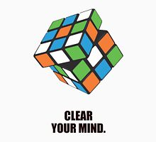 Clear Your Mind - Corporate Start-up Quotes Unisex T-Shirt