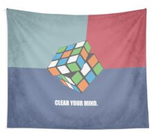 Clear Your Mind - Corporate Start-up Quotes Wall Tapestry