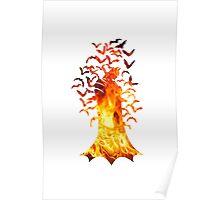 Batman (Fire version) Poster