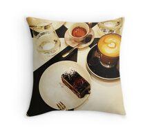 Comfort Food: Afternoon Tea Throw Pillow