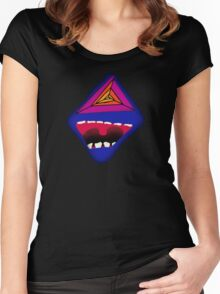 The Laugh Psychedelic Women's Fitted Scoop T-Shirt