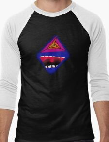 The Laugh Psychedelic Men's Baseball ¾ T-Shirt