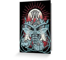 Disturbia Greeting Card