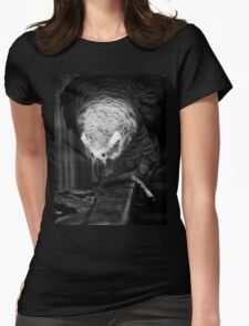 Bird Portrait Womens Fitted T-Shirt