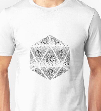 DnD Roll Initiative  Unisex T-Shirt