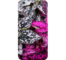 Contrasting Leaves iPhone Case/Skin