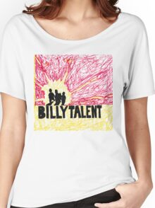 Billy Talent I - Rot/Gelb Women's Relaxed Fit T-Shirt