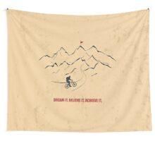 Dream It Believe It Achieve It - Corporate Start-up Quotes Wall Tapestry