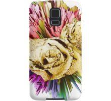 Floral firework Samsung Galaxy Case/Skin