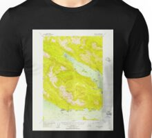 USGS TOPO Map Alaska AK Sitka D-4 359163 1948 63360 Unisex T-Shirt