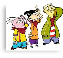 Ed, Edd and Eddy Canvas Print