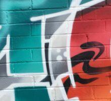 Crazee Cats Graffiti: Zip Sticker