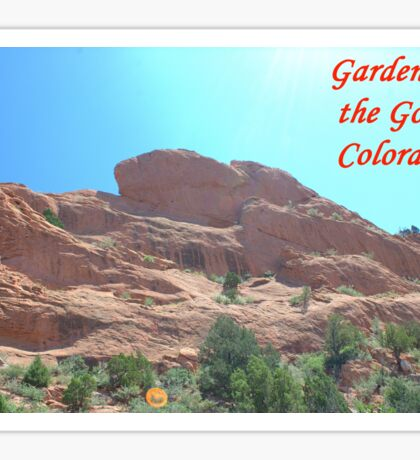 Garden of the Gods #7 Sticker