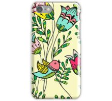 Cute Colorful Birds iPhone Case/Skin