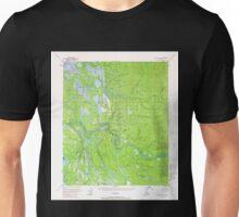 USGS TOPO Map Alaska AK Nulato D-2 358171 1954 63360 Unisex T-Shirt