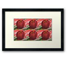 Apple Warhol Framed Print
