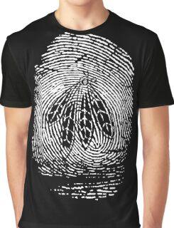 Chicago - Blackhawks Fingerprint Graphic T-Shirt