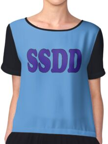 SSDD - Slang Definition Chiffon Top