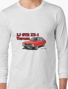 Holden XU1 LJ Torana in Red Long Sleeve T-Shirt