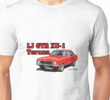 Holden XU1 LJ Torana in Red Unisex T-Shirt