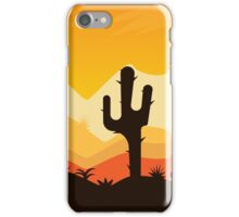 Desert Illustration iPhone Case/Skin