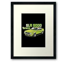 Holden SLR 5000 Torana in Green Framed Print