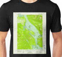 USGS TOPO Map Alaska AK Petersburg C-4 358351 1948 63360 Unisex T-Shirt