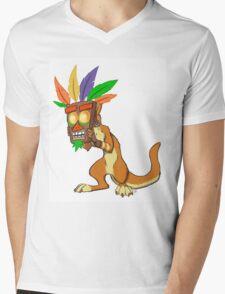 Aku Aku and Daxter  Mens V-Neck T-Shirt