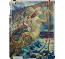 figurehead or ... fishing iPad Case/Skin
