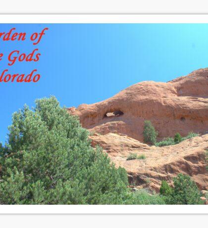 Garden of the Gods #8 Sticker