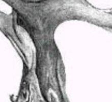 Tree - B&W Drawing Sticker