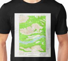 USGS TOPO Map Alaska AK McCarthy B-7 357305 1959 63360 Unisex T-Shirt
