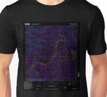 USGS TOPO Map Alaska AK Nabesna C-3 357933 1954 63360 Inverted Unisex T-Shirt