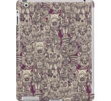 gargoyles purple iPad Case/Skin