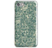 gargoyles teal iPhone Case/Skin