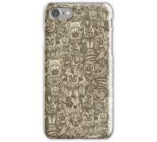 gargoyles vintage iPhone Case/Skin