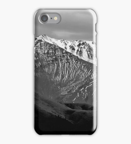 Mountains over Windwhistle, New Zealand iPhone Case/Skin