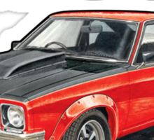 Holden A9X Torana in Red Sticker