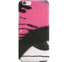 pink graffiti drips iPhone Case/Skin